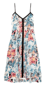 ELIZABETH AND JAMES Linda printed silk dress £405