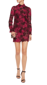 VALENTINO lace mini dress £1685.30