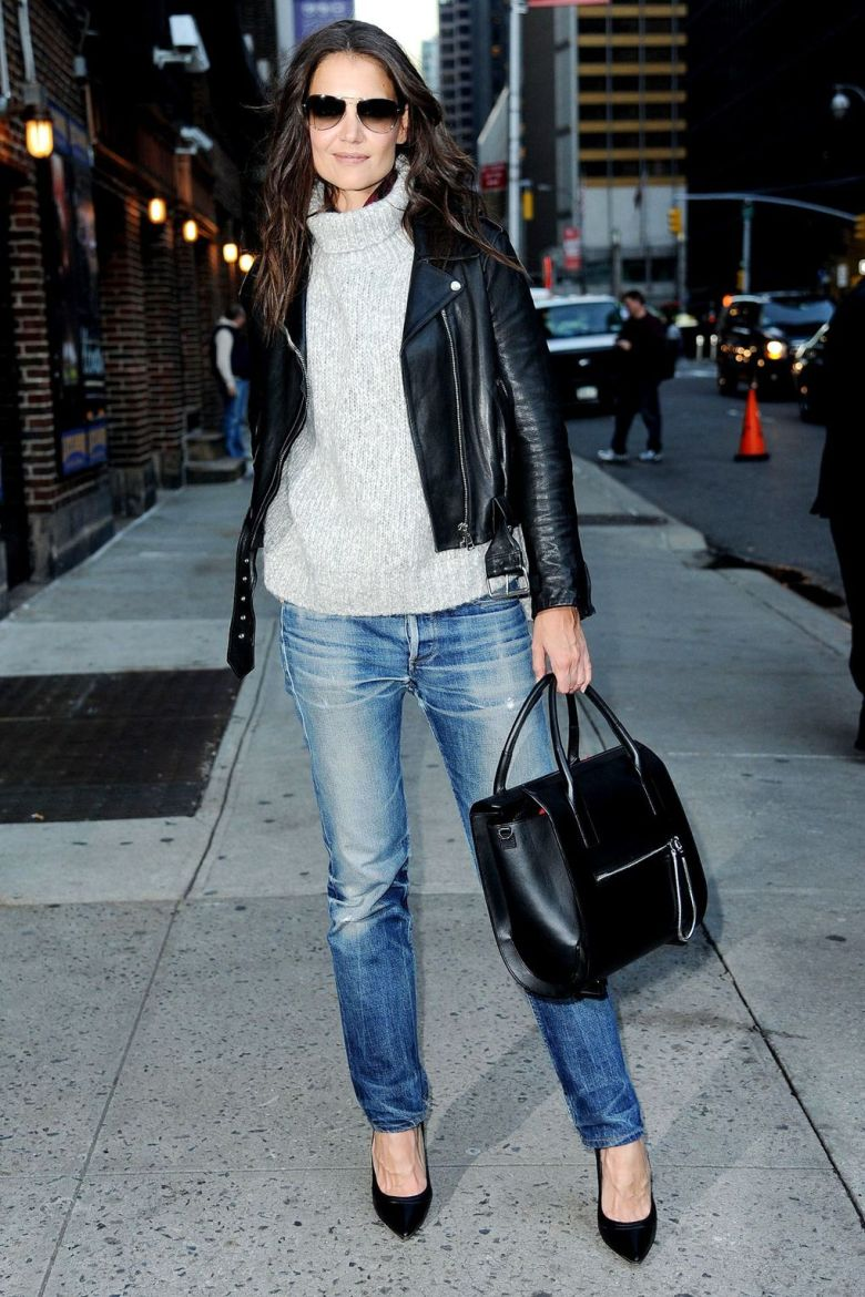 Fall Outfits - Katie Holmes