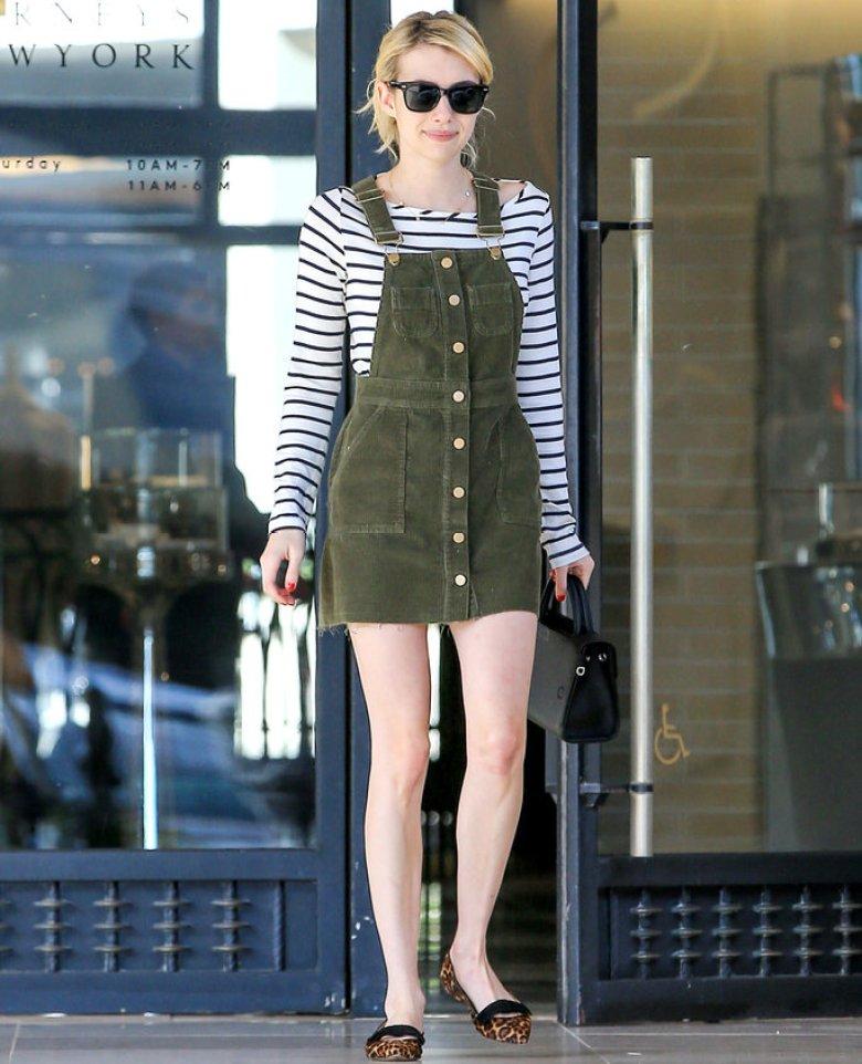 Casual Fall Wear - Emma Roberts