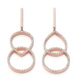 Naida Kiss Open Cocktail Earrings £695