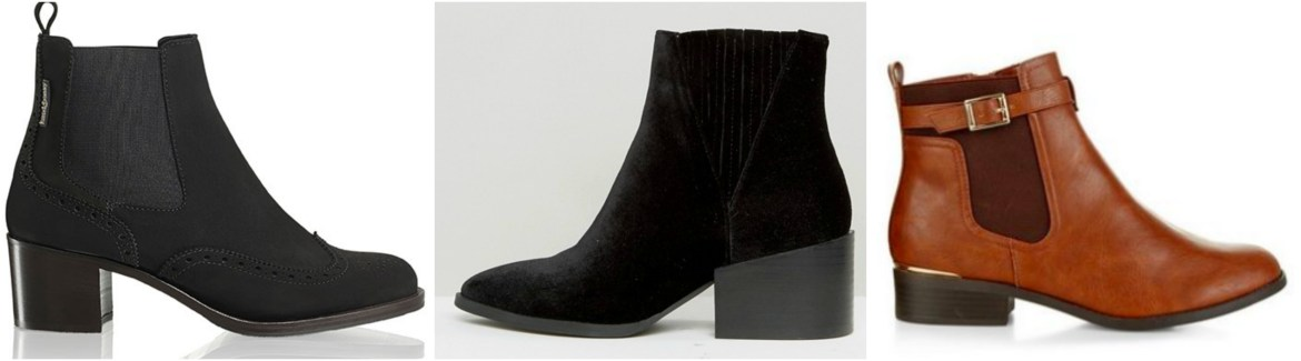 Black and Brown Chelsea Boots