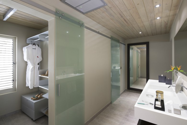 south point antigua bathroom and walk in wardrobe pictures deluxe waterfront suite