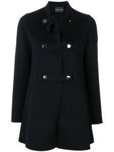 Farfetch Emporio Armani button-up coat