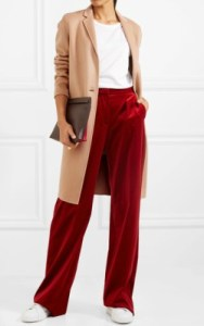 Net-a-Porter Theory Essential New Divide wool coat - $795 in camel