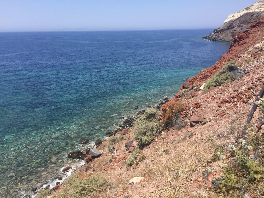 A coast in Greece