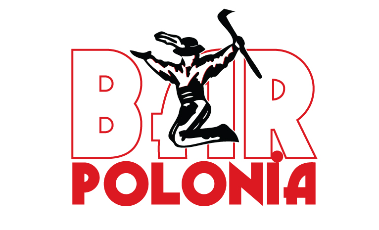 Bar Polonia Logo, created for the Royal Canadian Legion Branch #219 | Polish Combatants Branch #1. The logo features a goral dancer.