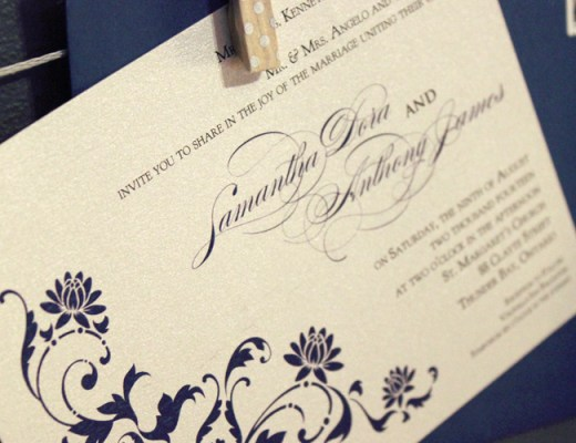 Formal Wedding Invitation, Wedding Stationery | Alex Inspired