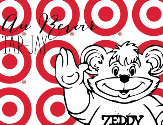 Zeddy Bear (Zellers), waving good bye to Target |Alex Inspired - a Canadian Perspective