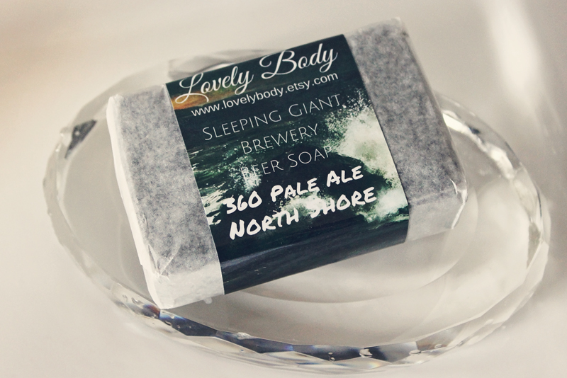 Lovely Body Handmade 360 Pale Ale North Shore Soap | Alex Inspired