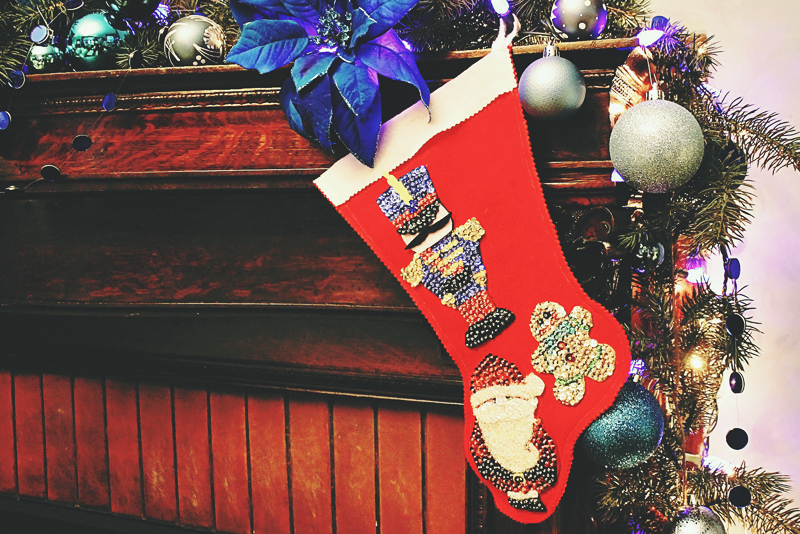 Handmade Christmas Stocking | Alex Inspired