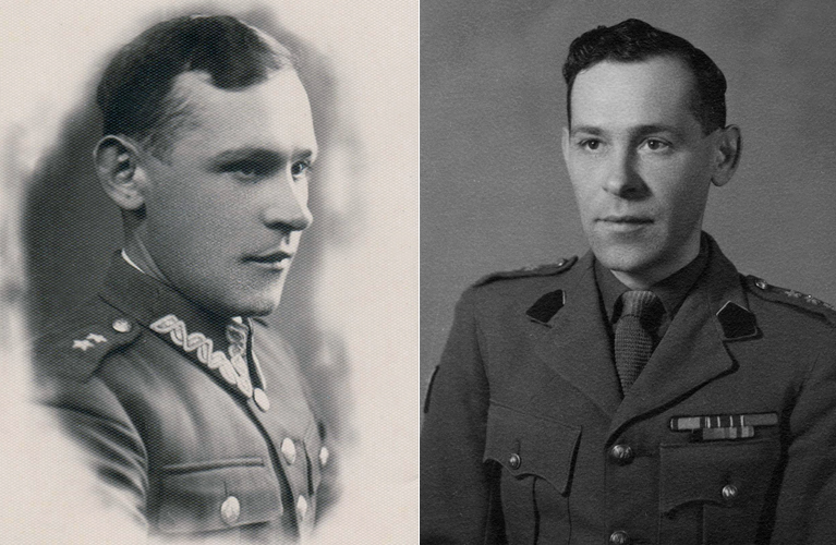 How to Obtain Polish WWII Military Records - Dziadzio as an older man in his military uniforms | alex inspired