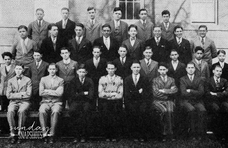 1929 De La Salle High School Year Book Photo of Stanley Golden | Alex Inspired