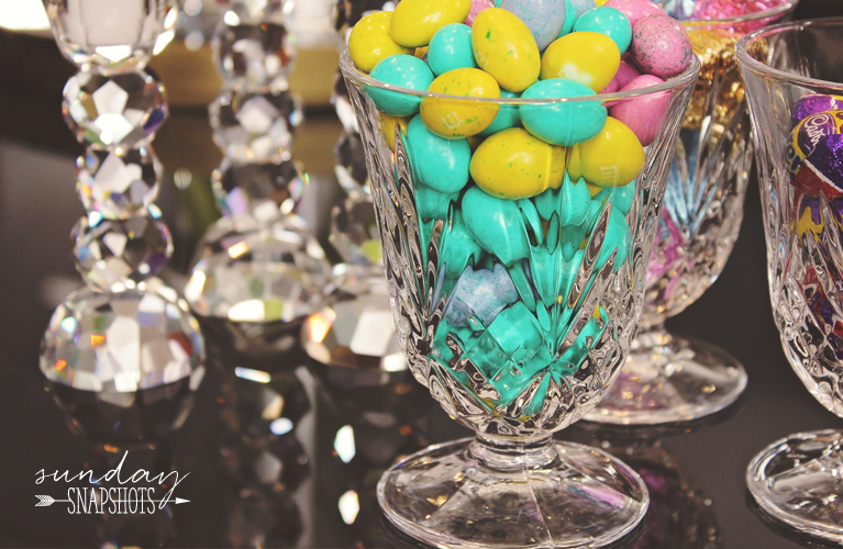 Sunday Snapshots - Easter Sunday Candy in crystal |Alex Inspired