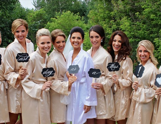 Bride and Bridesmaids getting ready in the morning | Alex Inspired