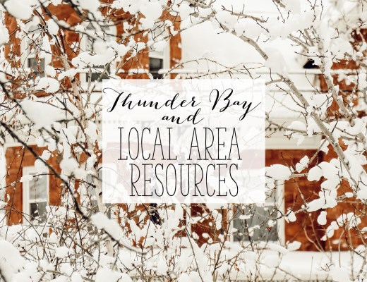 Thunder Bay and Local Area Resources