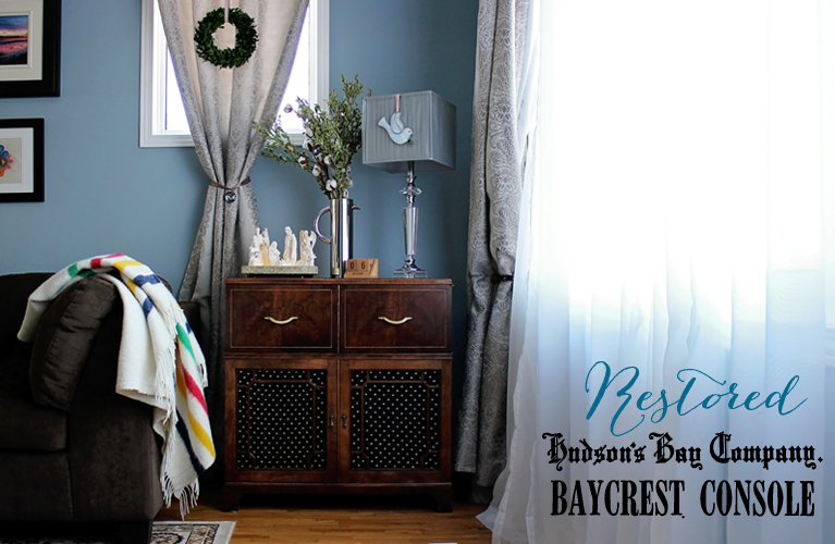 Restored! Hudson's Bay Baycrest Radio Console! The New and Improved Baycrest Radio from Hudson's Bay - Fully restored and gleaming in its new glory