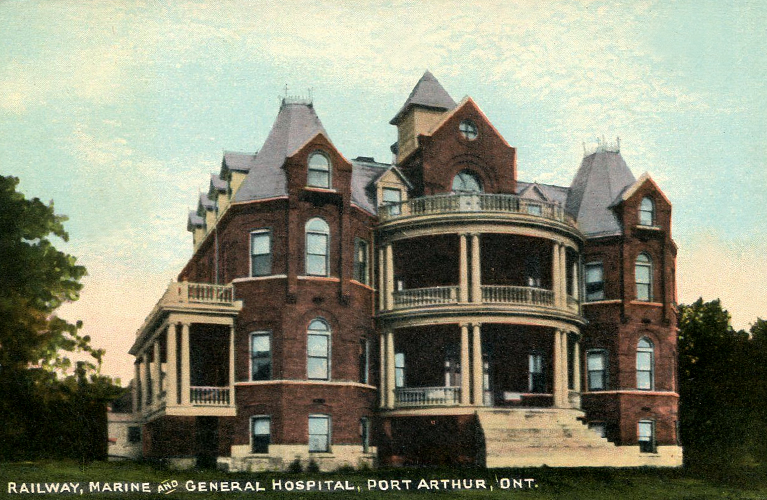 Port Arthur Railway Marine and General Hospital
