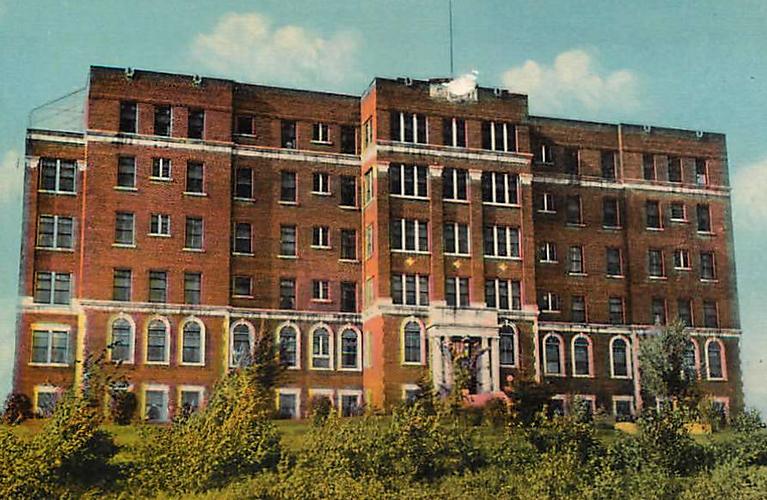 Port Arthur General Hospital Post Card