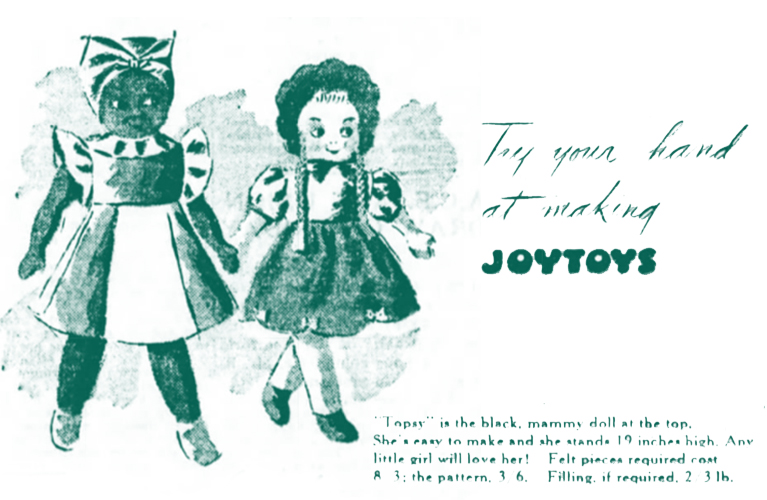 100 Christmases Ago | Alex inspired - Little Girl asks for Black Mammy Doll
