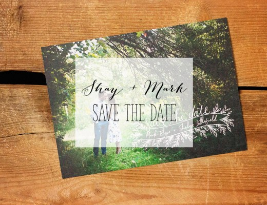 Shay + Mark - Save the Date | Alex Inspired