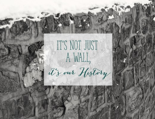 The historic High Street Stone Wall - Slated for Demolition | Alex Inspired