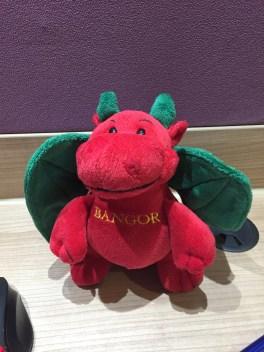 Bangor dragon plush
