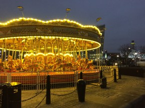 Merry-go-round at Albert Dock