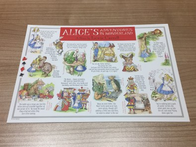 Alice's Adventures in Wonderland postcard
