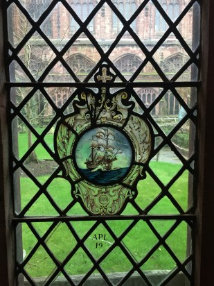 Window in Chester Cathedral