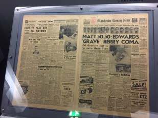 Munich Air Disaster - newspaper