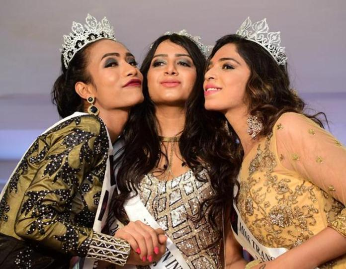 59abc31eaa3b4 - India crowns its first transgender beauty queen (photo)