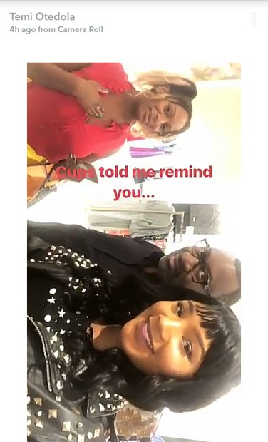 59af929ccdee6 - DJ Cuppy & Temi go shopping in NYC with their billionaire dad
