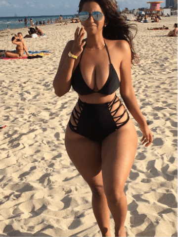 Meet the woman referred to as the Indian Kim K. She