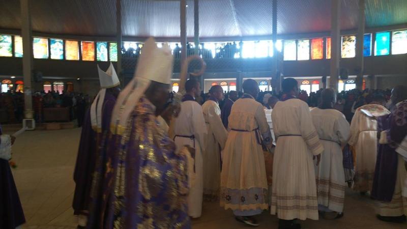 Slain Catholic priest Reverend Father Cyriacus Onunkwo laid to rest (Photos)