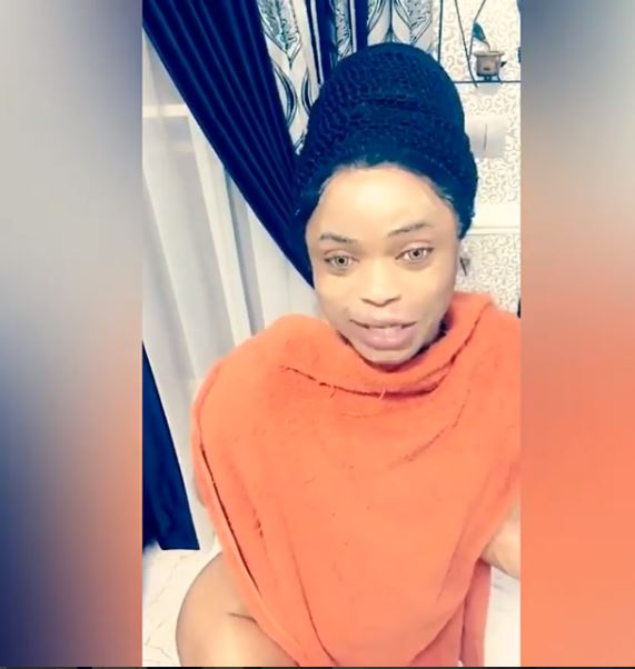 Bobrisky poses with no underwear to deny reports hips are fake (Photos)