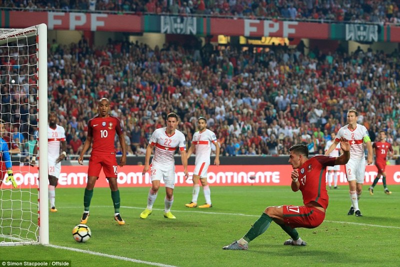 No stopping him! Cristiano Ronaldo will be at the World Cup after leading Portugal to beat Switzerland 2-0