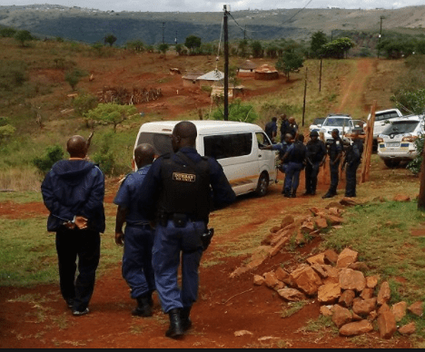 Three men suspected of cannibalism in South Africa regain freedom