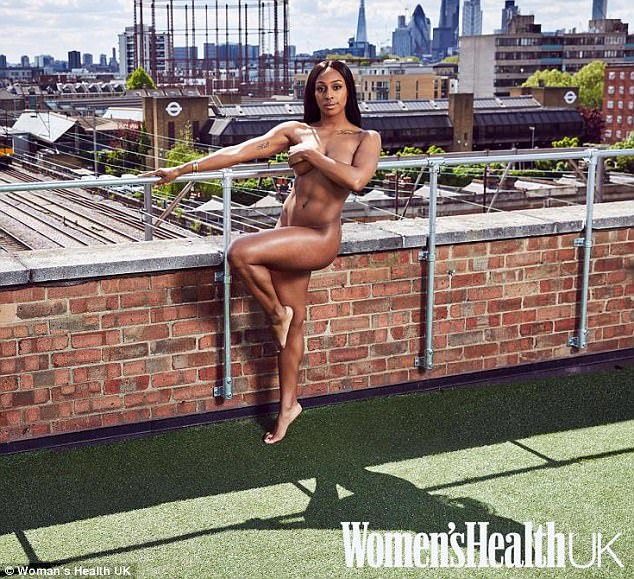 Alexandra Burke strips completely naked after dropping three dress sizes (18+)
