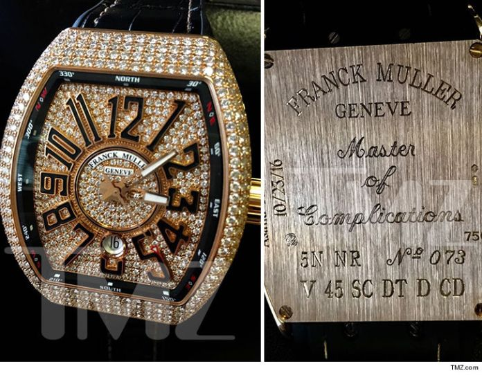 DJ Khaled buys his son Asahd N36million diamond-studded watch for 1st Birthday (Photo)