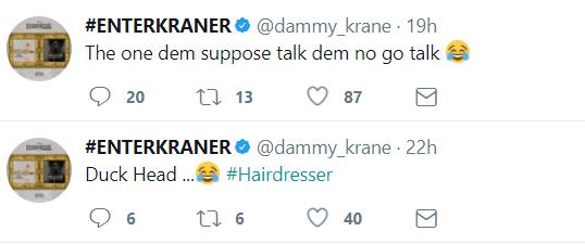 Dammy Krane drags Tekno into his beef with Orezi