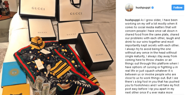 Hushpuppi slams former close friend Mompha for shading him on Instagram, threatens to release their secrets