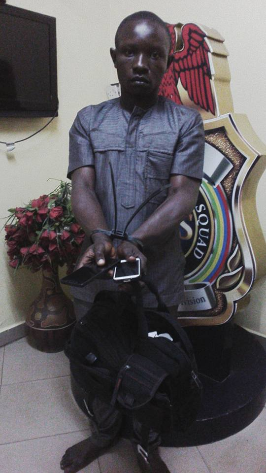 RRS Parade Two Pickpocket Suspects