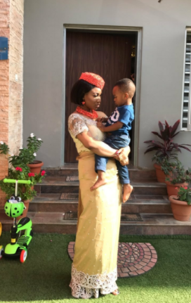 Photos: Actress Tonto Dikeh conferred with