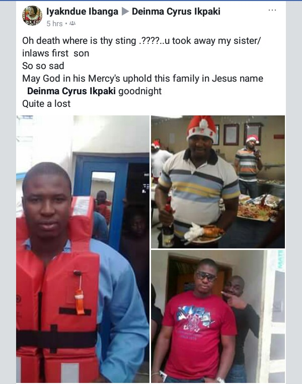 Family and friends mourn death of young Nigerian engineer