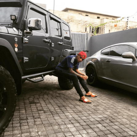 Who is Dammy Krane shading again over cars? Tekno?