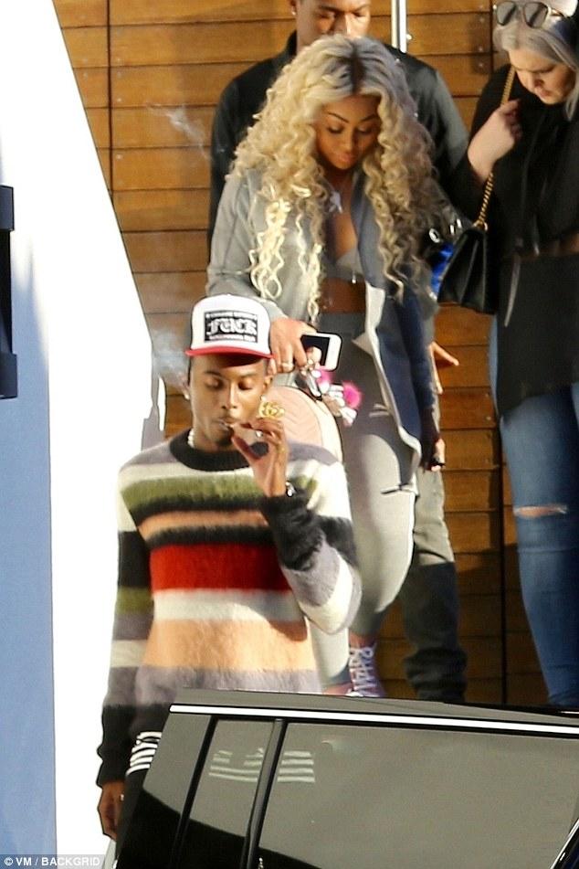 New beau? Blac Chyna steps out with rapper Playboi Carti amid romance rumors (Photos)
