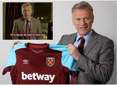 David Moyes confirmed as new West Ham United manager