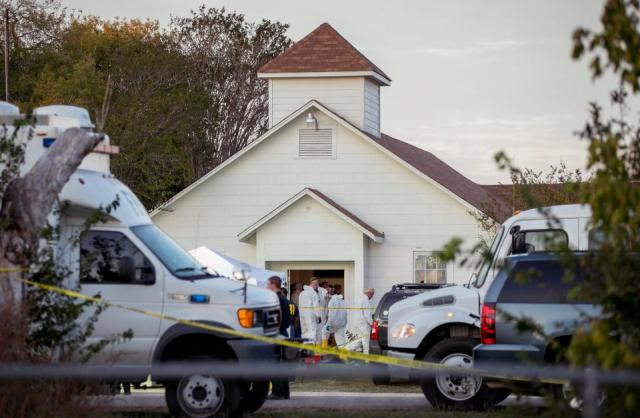 Man who killed 26 in Texas church forced girl, 13, to pose naked then took her virginity