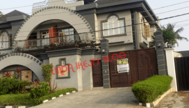 Exclusive:  What we know about the real owners of the N320million Square Ville mansion put up for sale